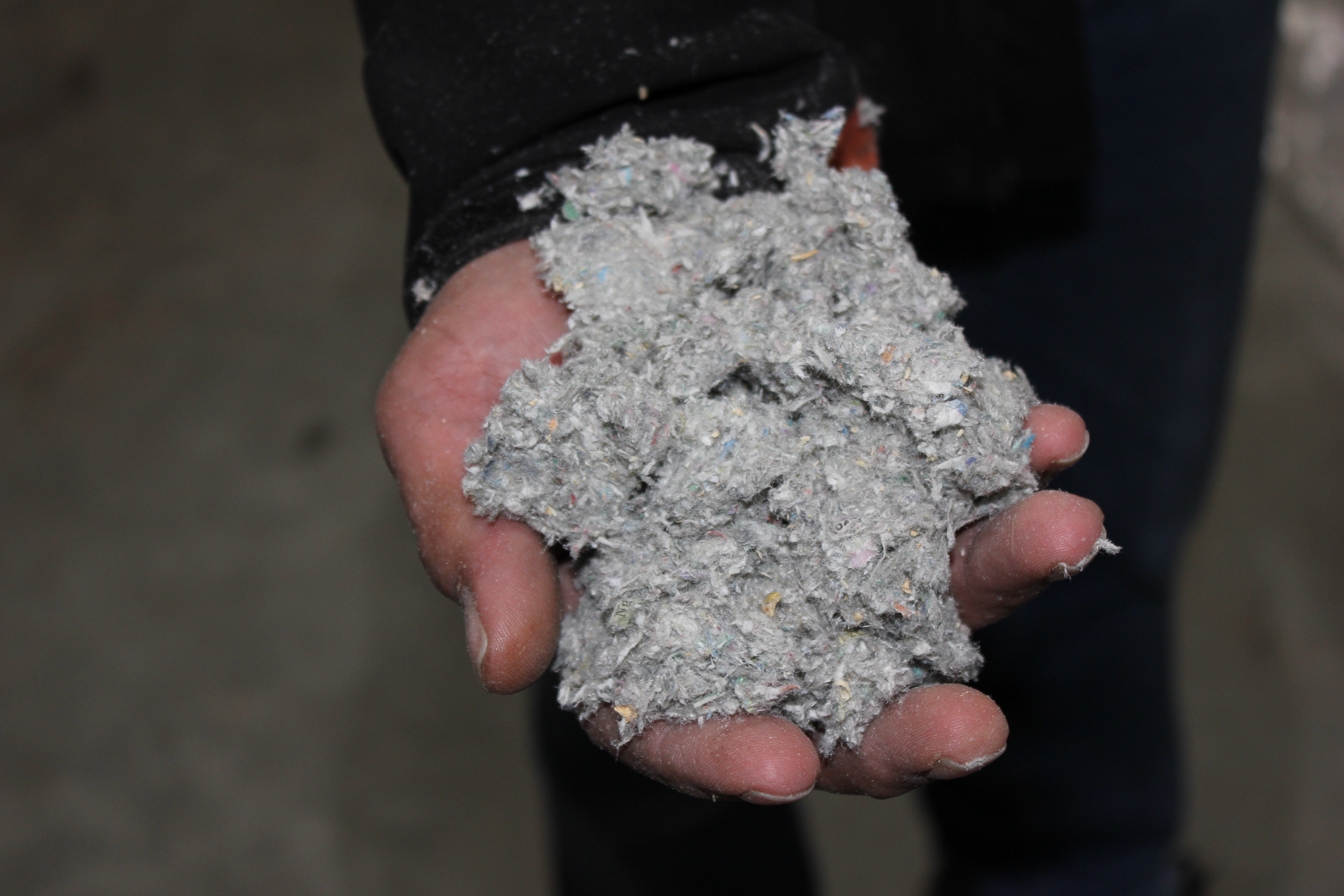cellulose in hand